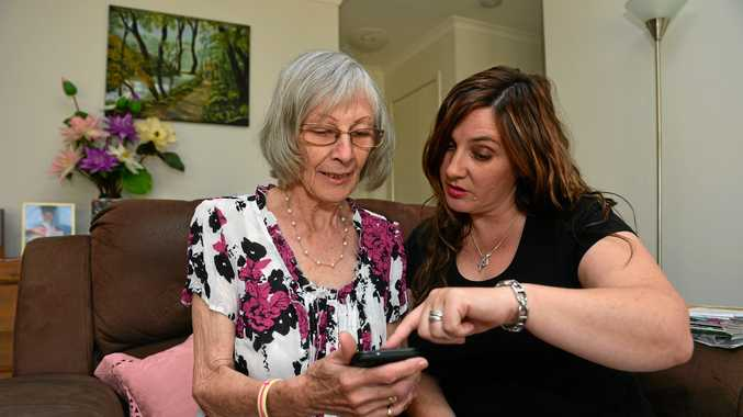 Sheila Sumner is an elderly SC local that beat ovarian cancer twice. Who can now monitor her progress of the cancer using the app, using the help of her daughter Cathryn Briggs.