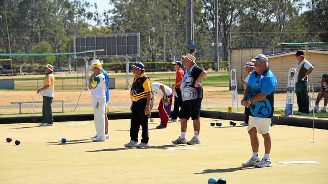 ON TARGET: Wondai Country Club hosted a two-day lawn bowls carnival at the weekend with a field of 64 players in action.