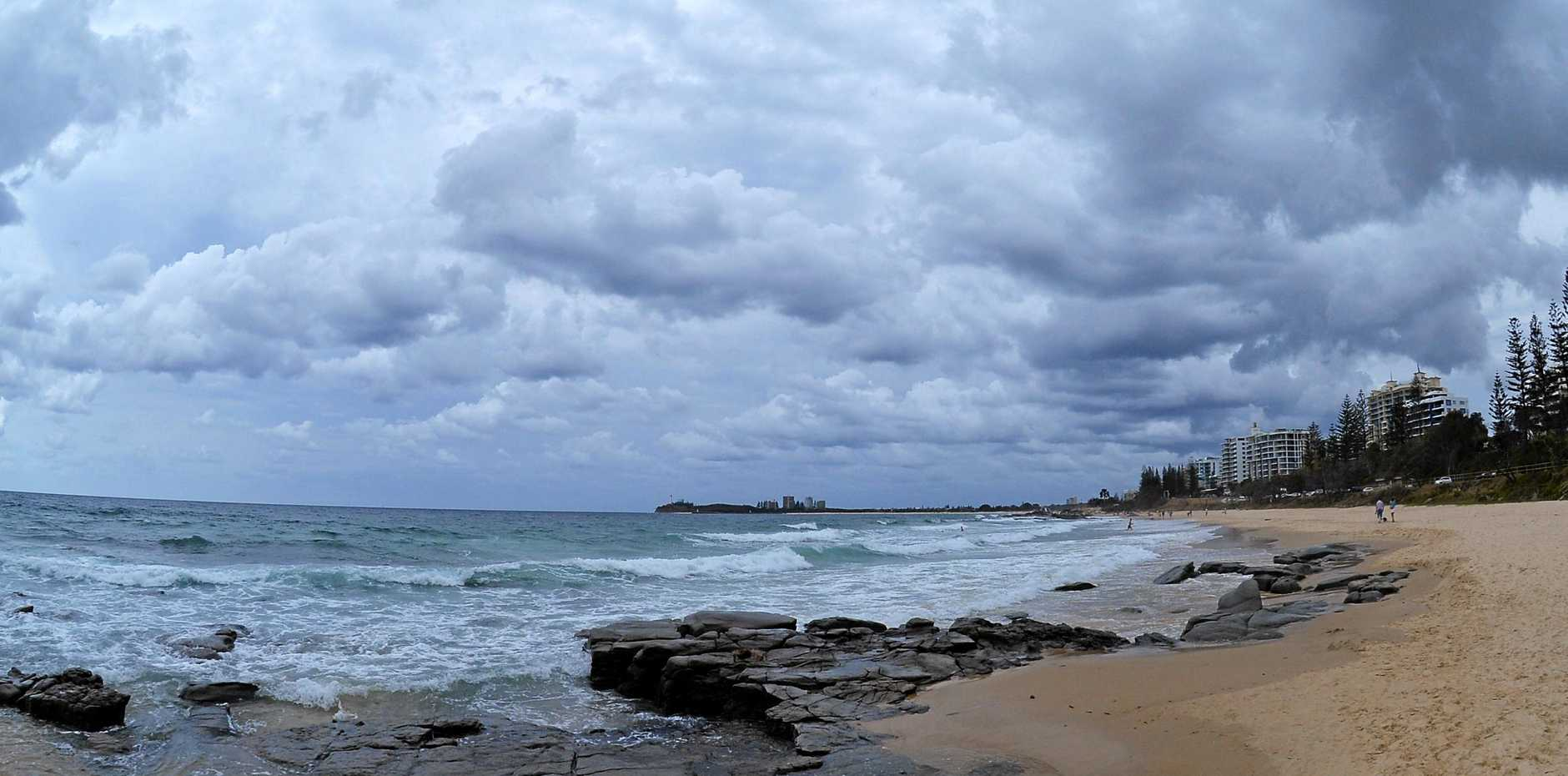 WEATHER: THERE'S plenty of storm clouds about however the Bureau of Meteorology has significantly wound back rainfall total for today after a trough proved to be weaker than expected.