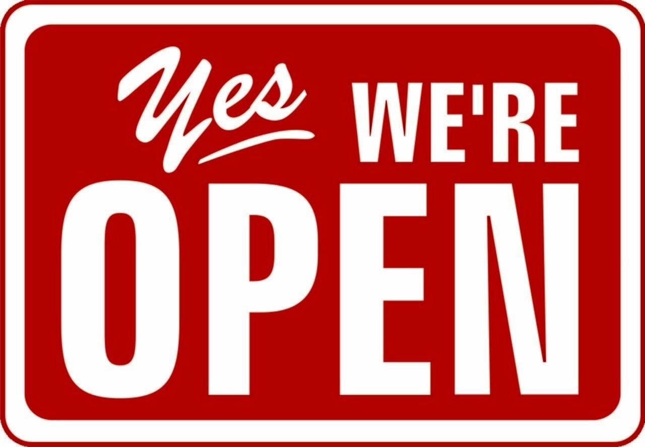 OPEN: Don't panic, the shops are open today.