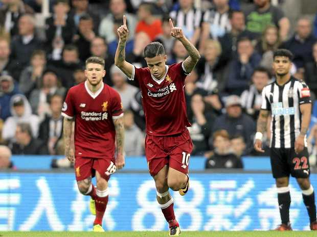 Graeme Souness 'admires the finish' of Philippe Coutinho's Liverpool opener
