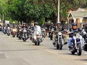 Bikies' show of force keeps police on high alert