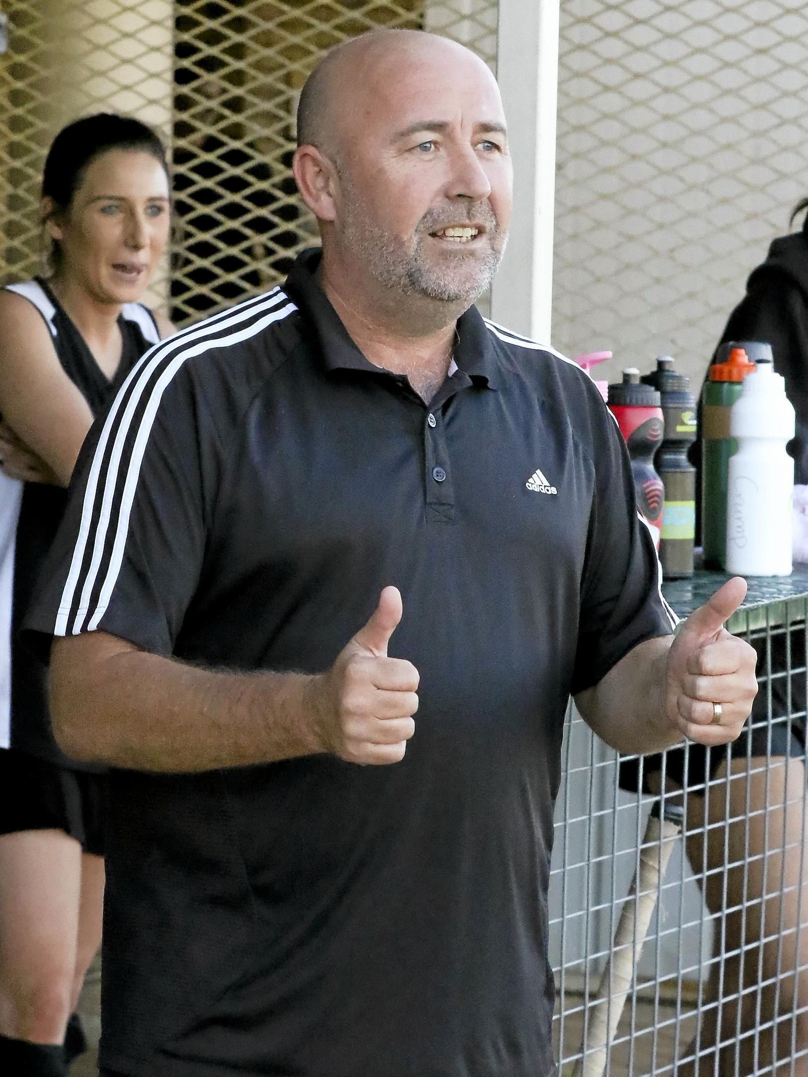 Ipswich men's nine-a-side coach Brent Nicholls enjoyed the new Hockey Queensland format.
