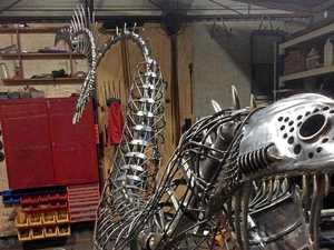 Mystery creature a winner for Ipswich artist