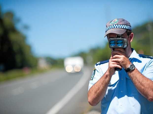 A Toormina man was allegedly detected driving at 179km/h in a 100km/h zone.