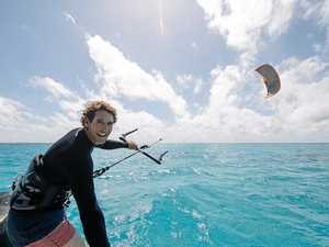 Incredible vision: Kite surfing on the Great Barrier Reef