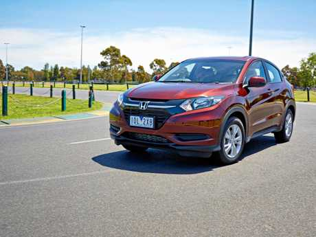 The Honda HR-V VTi.