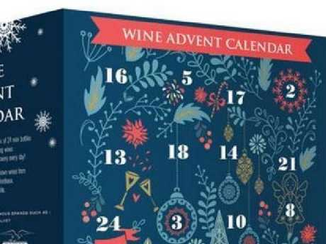 The ALDI UK wine advent calendar being released. Picture: SuppliedSource:Supplied