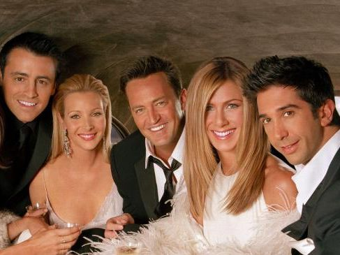Lisa Kudrow (third from left) has revealed she was sacked from Frasier before finding fame as Phoebe in Friends.