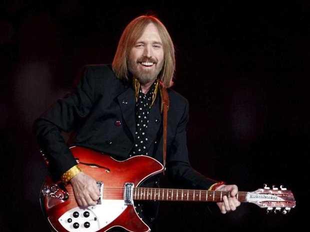 US singer Tom Petty