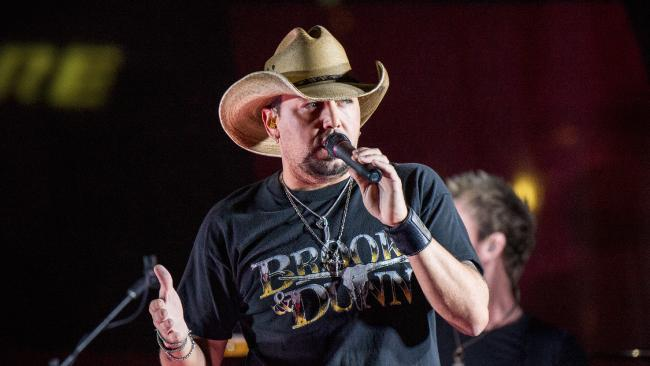 Jason Aldean was performing on stage when the Las Vegas mass shooting occurred.