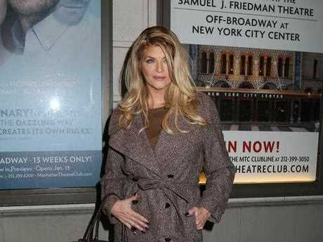 Kirstie Alley attends the Broadway opening night of