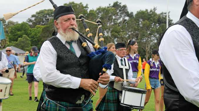 SOUND IN THE SCOTS: The Ballina Pipe Band will perform before the start of a 2017 Rugby League World Cup warm-up match for the Scottish Bravehearts at Ballina's Kingsford Smith Park on October 20.