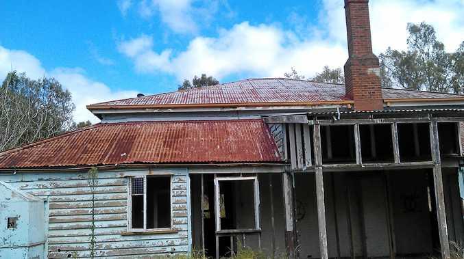 Old caretakers residence at Mount Morgan.