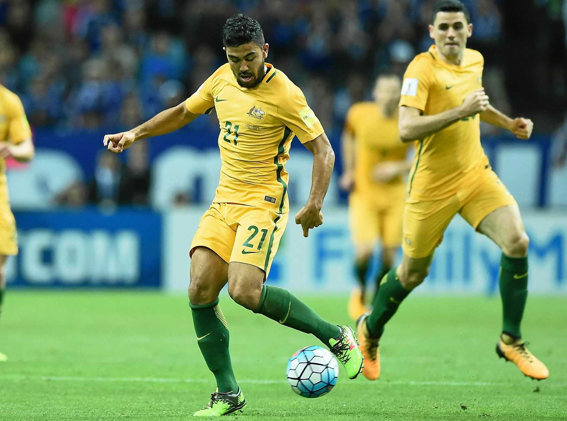 Massimo Luongo says Australia should be too physical for Syria in their World Cup playoff.