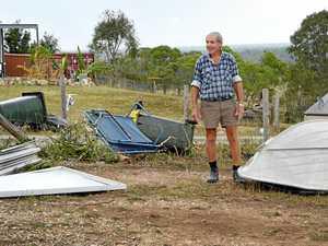 FOOTAGE: Fraser Coast tornado wreaks havoc