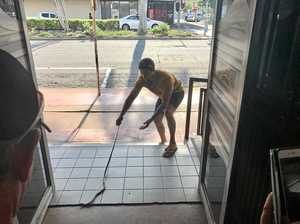 Most NQ thing ever: Man drags curious snake out of Mackay CBD restaurant