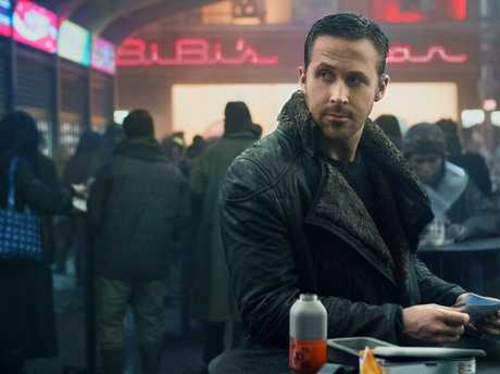 Ryan Gosling in a scene from the movie Blade Runner 2049.