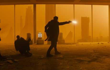Ryan Gosling in a scene from Blade Runner 2049.