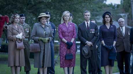 A scene from the season five premiere of A Place To Call Home.