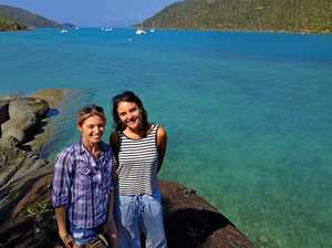 Whitsunday welcome for children's author