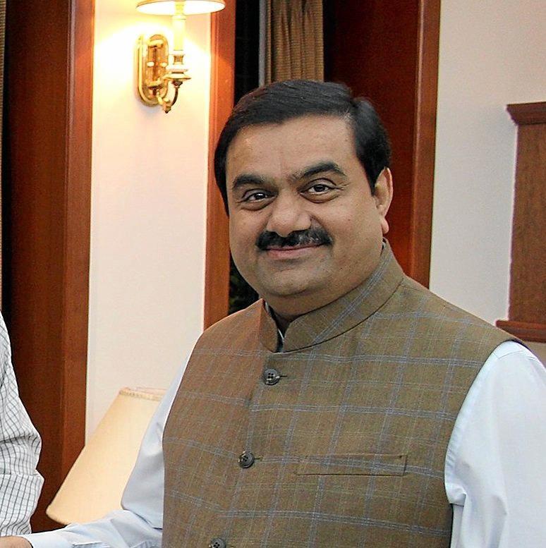 UNDER PRESSURE: Adani Group chairman Gautam Adani.