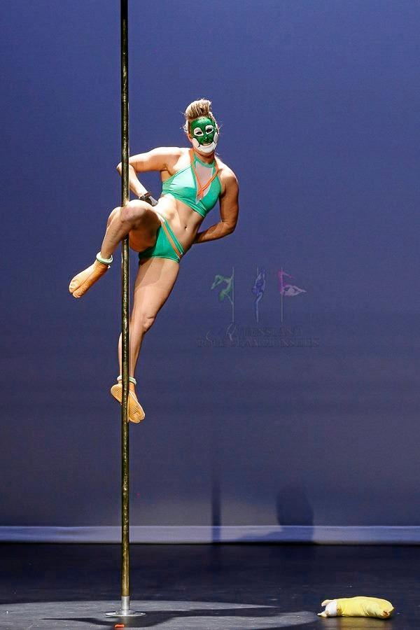 LEADING LADY: Tamara MacKenzie has been nominated as People's Choice in the up coming Australian Pole Championships.