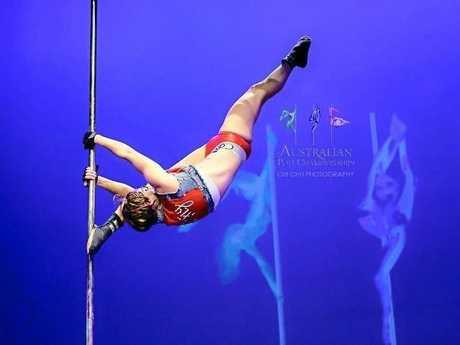 Tamara MacKenzie in her Back to the Future performance.