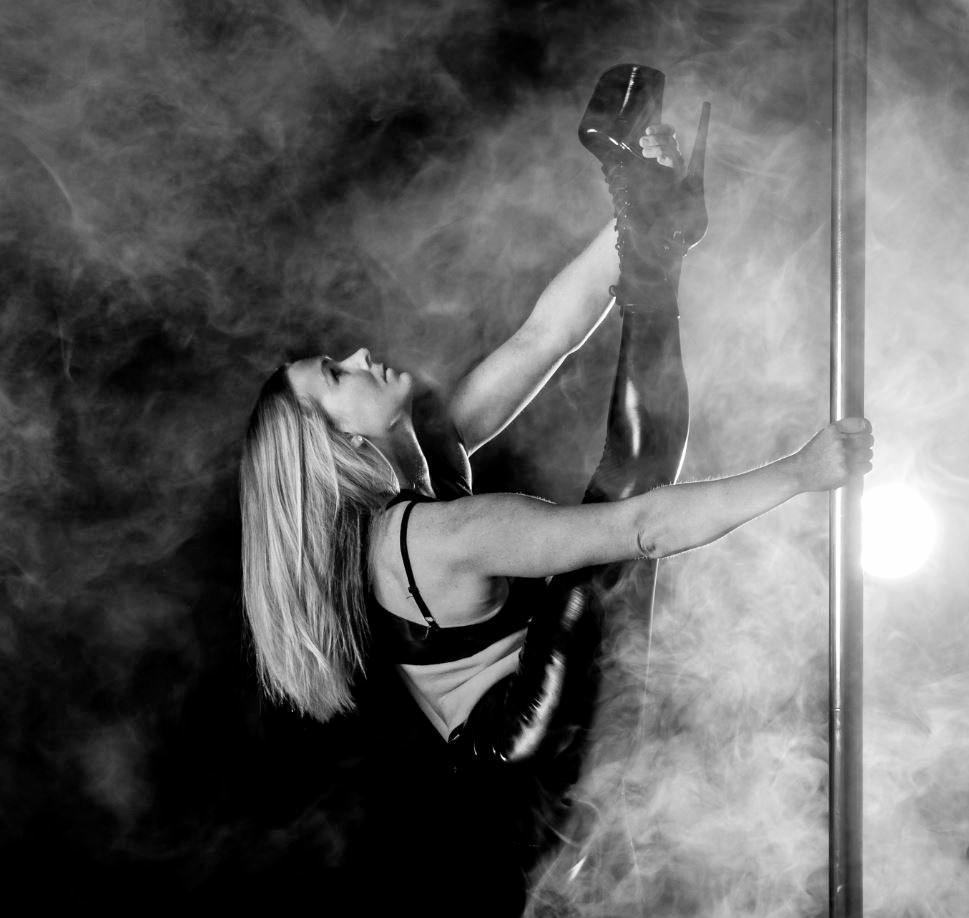Tamara MacKenzie has been pole dancing for eight years.