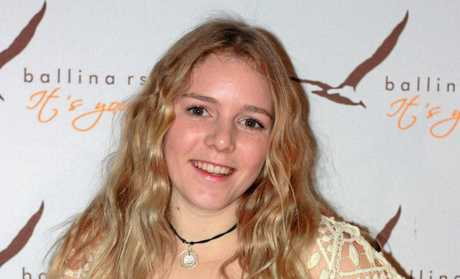 YOUNG: Possum Creek teen Hannah Parrington won the Youth category at the NCEIA Dolphin Awards 2015.