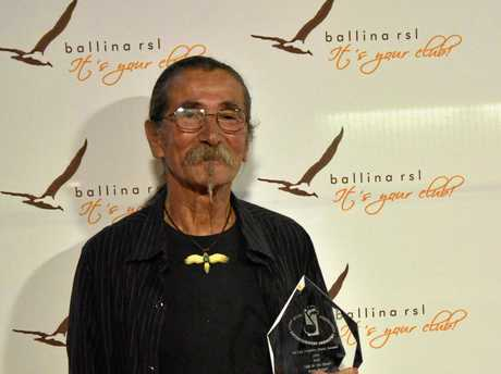 WINNER: Ivan Perger, 66, received his first NCEIA Dolphin Award 2014 in the Folk category.