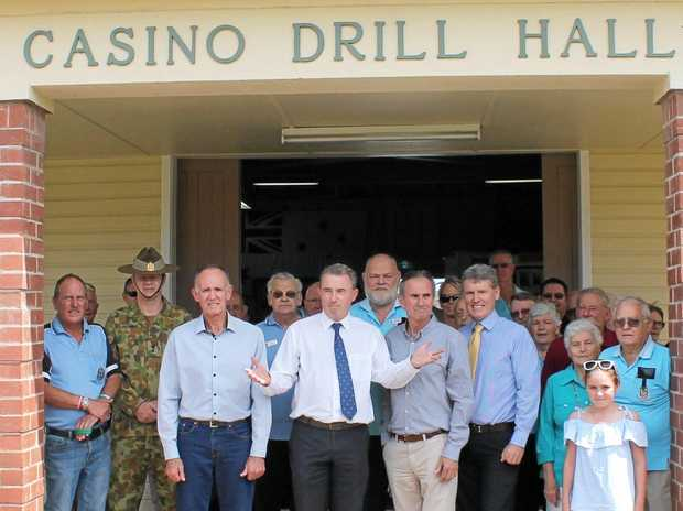 Opening of the Northern Rivers Military Museum at the Casino Drill Hall.
