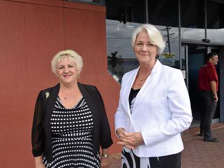 Capricornia MP Michelle Landry and Rockhampton Region mayor Margaret Strelow have worked hard to secure the Adani mine project and FIFO hub.