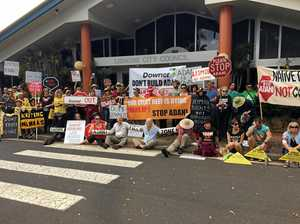 PROTEST: Ban companies 'in bed' with Adani