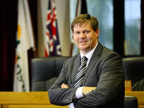 SUSPENDED: Ipswich City Council CEO Jim Lindsay has been charged by the CCC. Works, Parks and Recreation chief operating officer Craig Maudsley has also been charged. Both men have been suspended from duty and are on full pay.