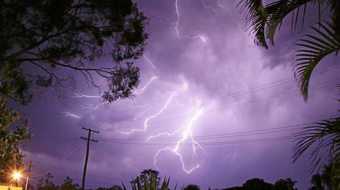 STORMY DAYS: Thunderstorms and hail are expected this afternoon