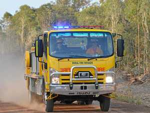 Crews responding to grass fires on New England Highway
