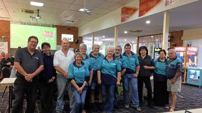 CASINO-based North Coast Truck Drivers Incorporated volunteers.