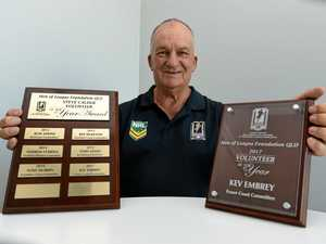 Embrey awarded Men of League honour