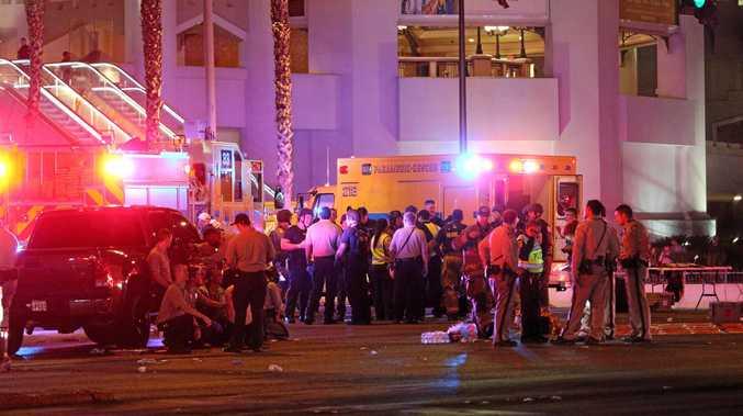 Mass shooting in Las Vegas, Nevada.