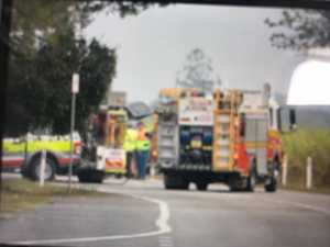 Child airlifted to Townsville after fatal head-on crash