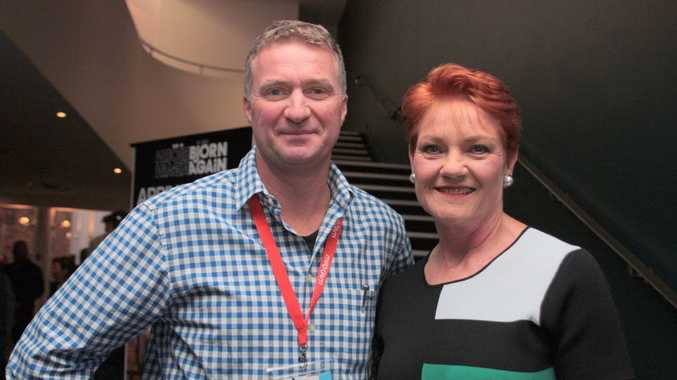 please explain what pauline hanson was up to in toowoomba chronicle