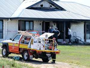 Fire investigators, police probe Ipswich house fire