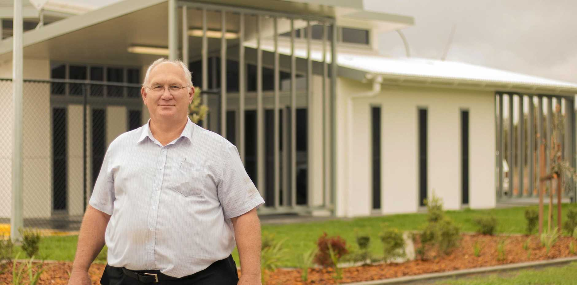 YOUNG'S NEW MOVE: Owner Phil Young pictured at the new precinct.