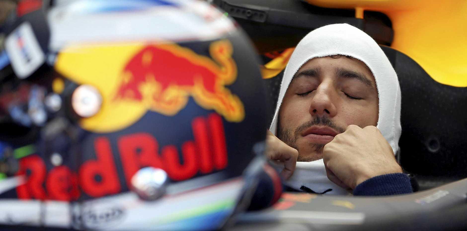 Red Bull driver Daniel Ricciardo is exploring his options.