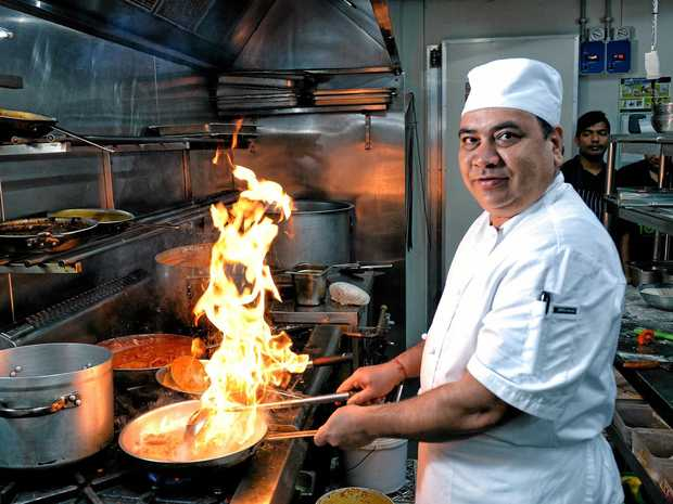 HOTTING UP: Much loved chef Pitamber Dutt is back at Indian Mehfil Restaurant.
