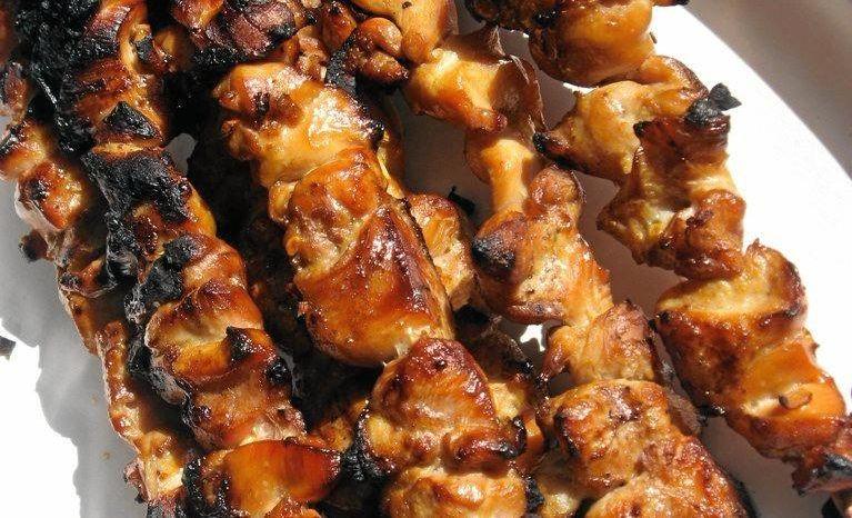 Honey Soy Chicken Sticks.