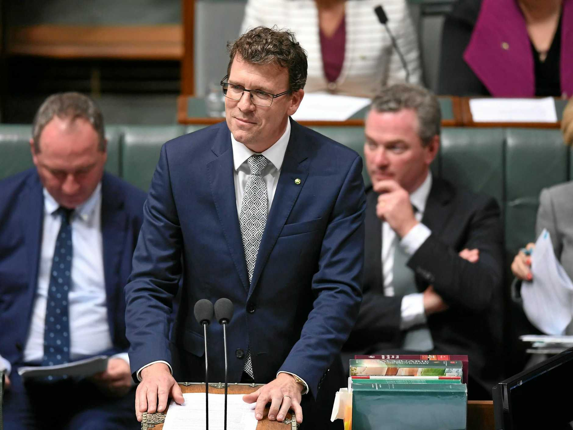 DIRE WARNING: Human Services Minister Alan Tudge laments that the region has the second highest youth unemployment rate in Queensland.