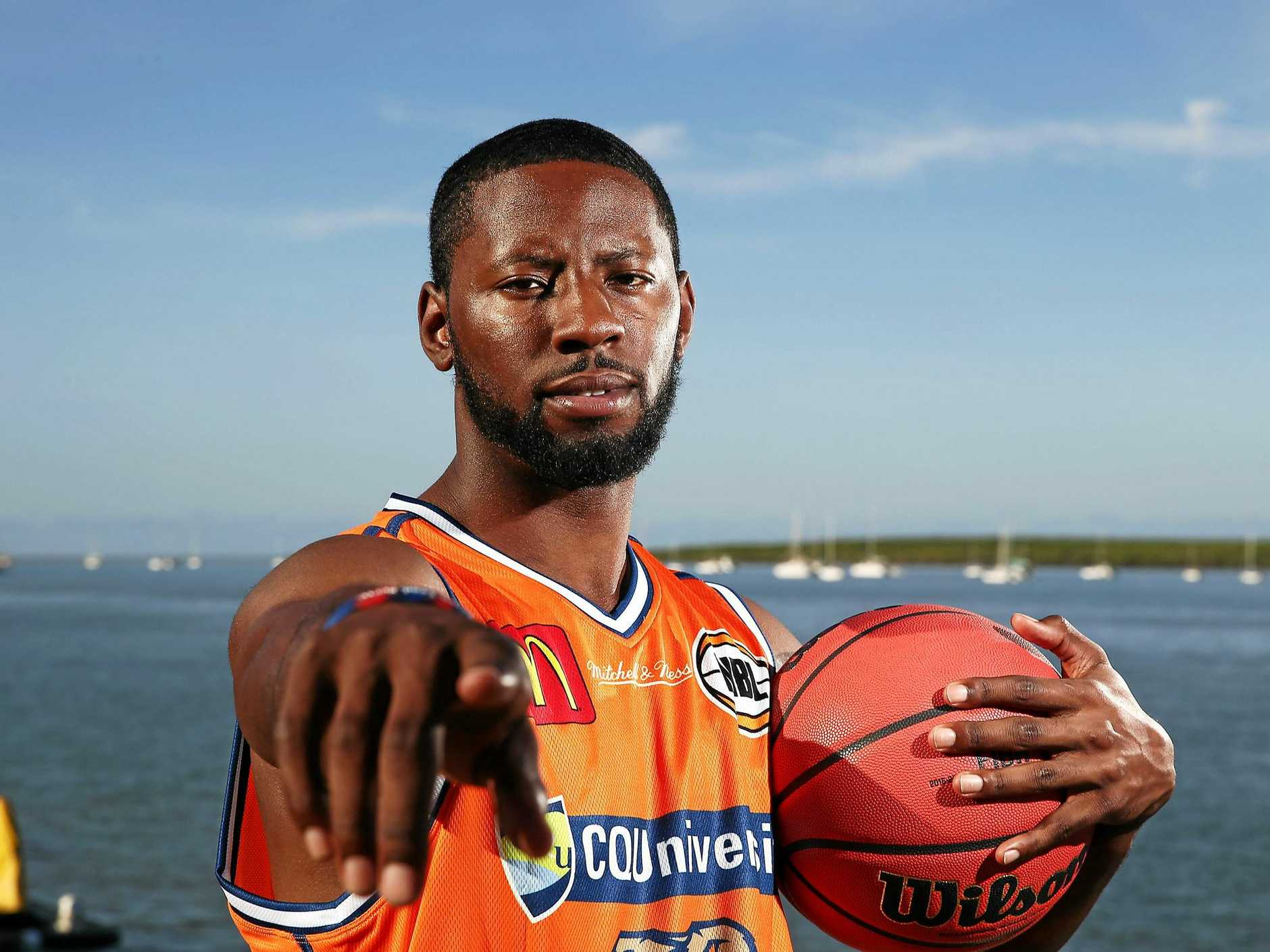 Scoochie Smith is ready for the new NBL season.