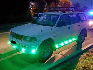 Putting coloured lights on your car might cost you $2000